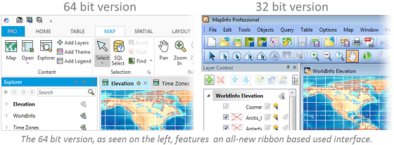 MapInfo_Pro_-_Old_and_New
