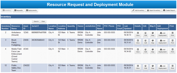 Remote Request and Deployment - inventory management