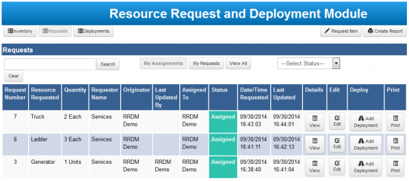 Remote Request and Deploymeny - request management