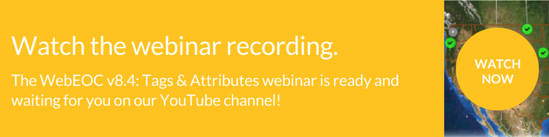 Watch the WebEOC 8.4 webinar
