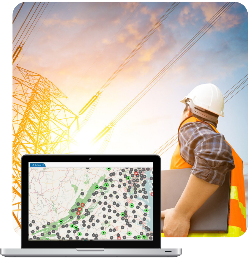 Web-based incident management for utilities companies
