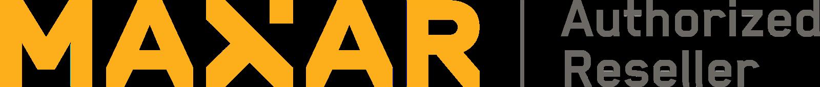 Maxar Authorized Reseller Logo- Grey