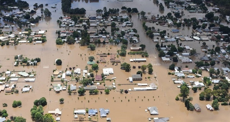 Victoria floods 2011. Image Credit Bendigo Advertiser