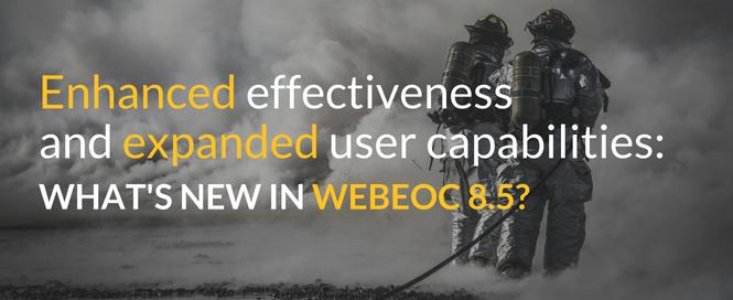 WebEOC 8.5