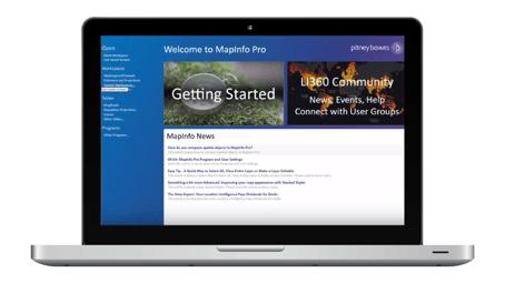 MapInfo Pro v17