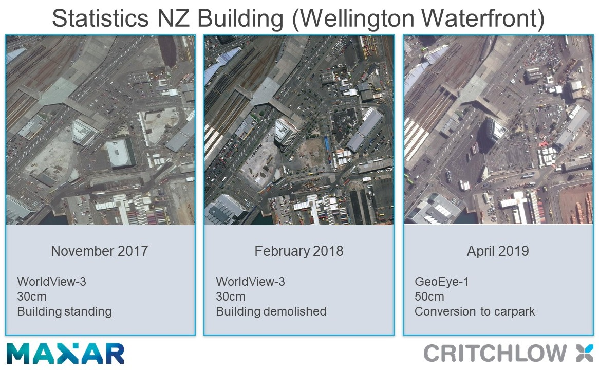 Critchlow/Maxar partnership launch on-demand, high resolution satellite imagery for New Zealand